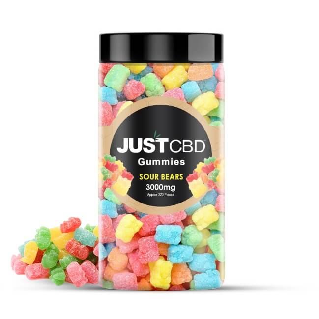 CBD Gummies Sour Bears 3000mg