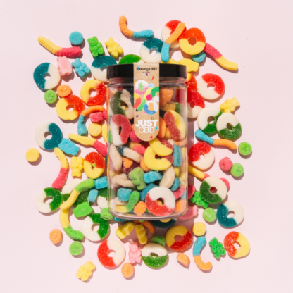 This image has an empty alt attribute; its file name is CBD-Gummies-3000mg-Jar-%E2%80%93-Party-Pack-416x416.png