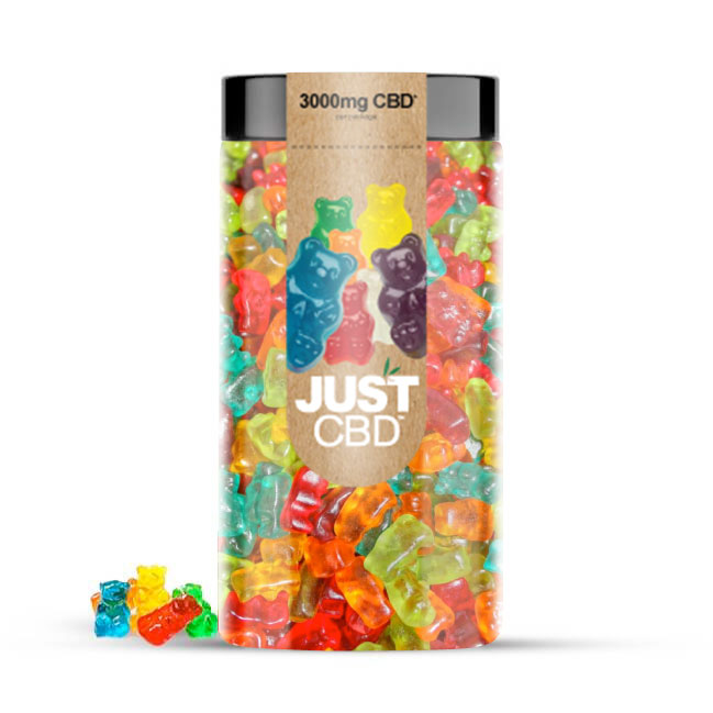 CBD Gummies 3000mg Clear Bears